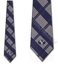 BYU Cougars Tie Woven Plaid