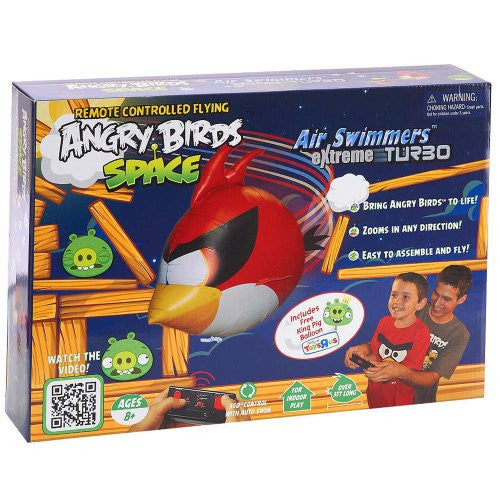 Air Swimmers - Angry Birds Red Space Bird