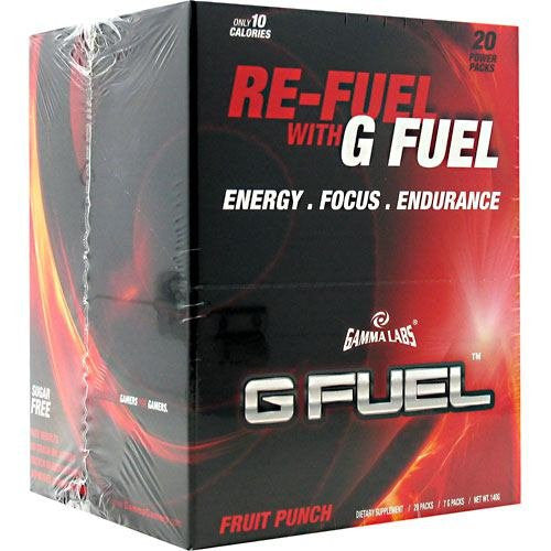 Gamma Labs - G Fuel - Fruit Punch - 20 Packs, 20 packs