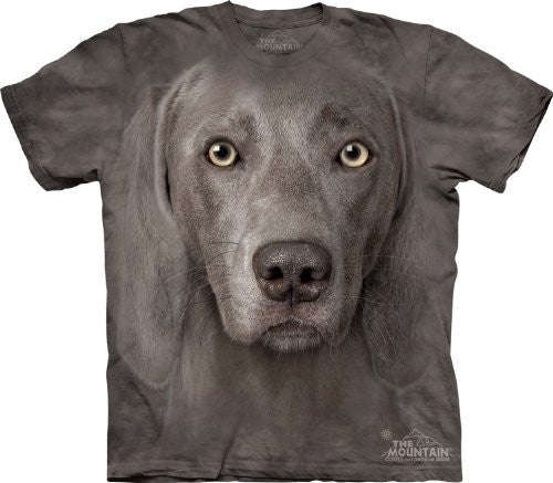Weimaraner, Loose Shirt - Gray Adult X-Large