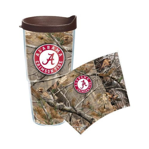 Alabama, University of - Realtree Camo 24oz Wrap with Lid