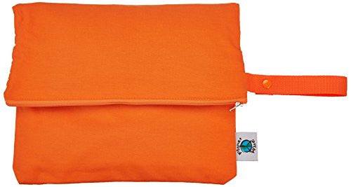 Planet Wise Wet Diaper Bag, Carrot, Medium (Discontinued by Manufacturer)