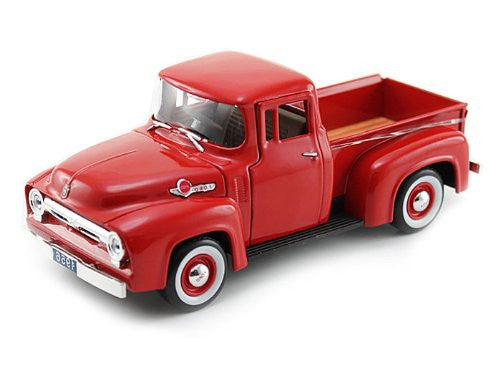 Signature Models - Ford Pickup Truck (1956, 1/32 scale diecast model car, Red)