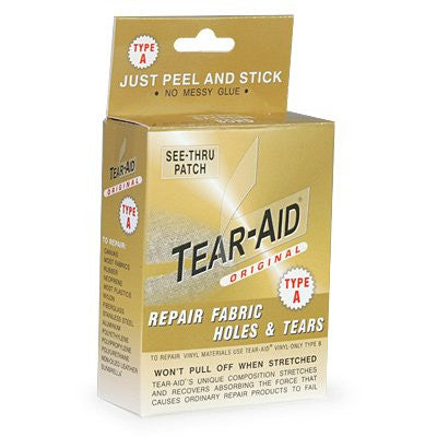 TEAR-AID TYPE A FAB PATCH KIT