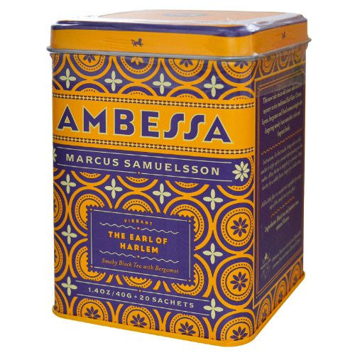 Ambessa The Earl Of Harlem - 20 Sachet Tin