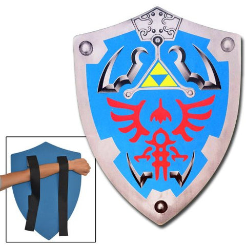 Legend Of Zelda Link Foam Blue Shield LARP