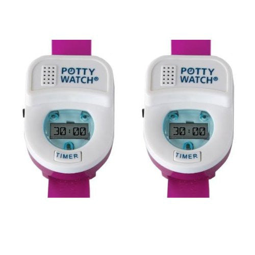Potty Watch - Pink (Pack of 2)