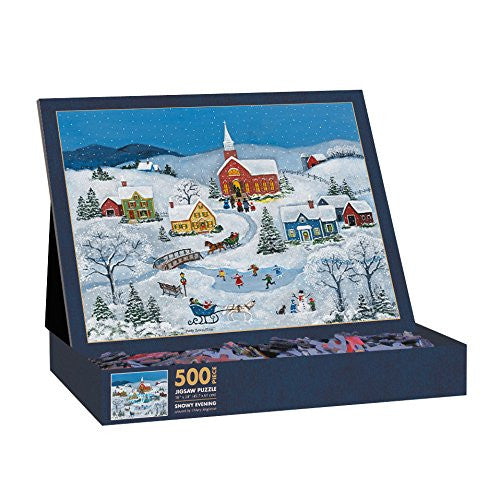 500 PIECE PUZZLES - Snowy Evening