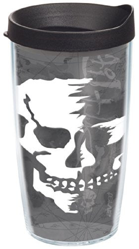Salt Life - Colossal Skull Wrap with Lid 16oz.Tumbler