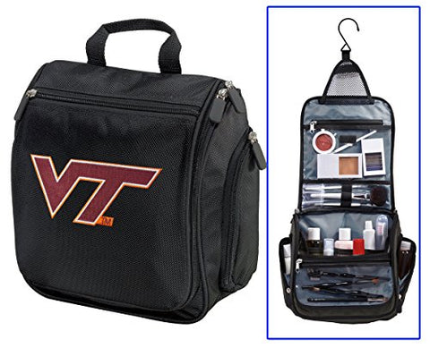 "Virginia Tech Toiletry Bag Or Shaving Kit (10""x9.5""x4"")"