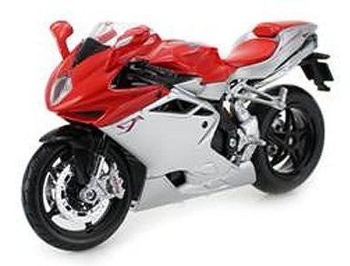 2012 MV Agusta F4 Red/Silver Bike 1/12 Motorcycle by Maisto 11094