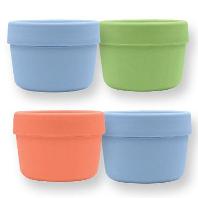 Sprout Ware Snack Cup 4pk (Blue/Green/Salmon)