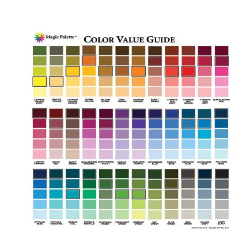Magic Palette Artist's Color Value Guide