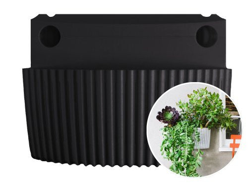 Living Wall Planter - Black