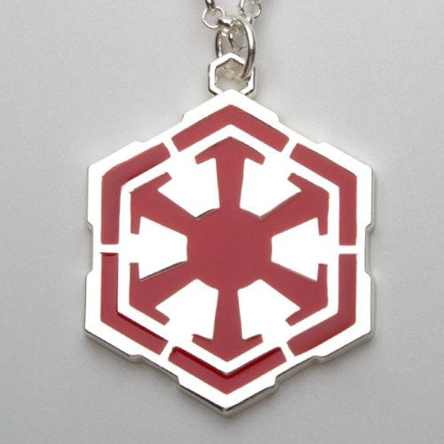 Star WarsTM: The Old RepublicTM Sith Empire Pendant Necklace - Red/Silver
