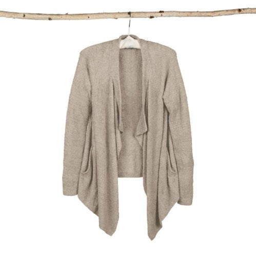 Bamboo Chic Lite One Mile Wear Cardi Stone L/XL