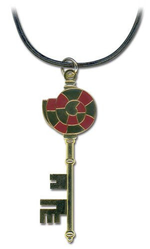 Blue Exorcist Shiro's Vault Key Necklace