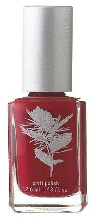 Five free nail polish - Red Head Cactus (A True Solid Red)