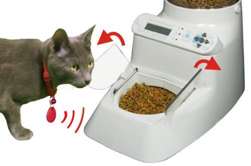 Automatic Pet Feeder - Wireless Whiskers AutoDiet Pet Feeder - Put Your Pet on a Diet