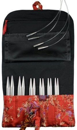 Sharp Steel Interchangeable Knitting Needle Set - 4-inch Large Tip Sizes (US 9 - US 15)