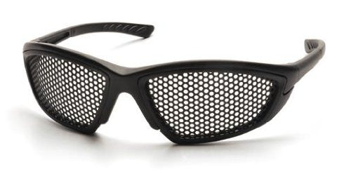 Trifecta - Frame: Black, Lens: Punched Steel (Pack of 12)
