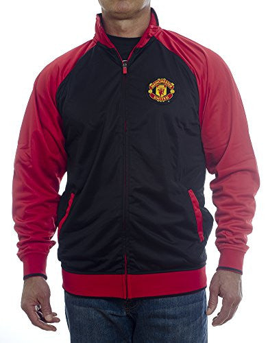 2013 Manchester United Zippered Home Track Jacket-Medium