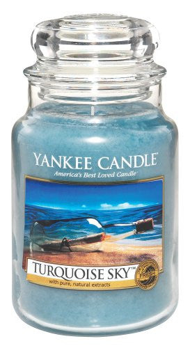 Yankee Candle Turquoise Sky 22oz Large Candle
