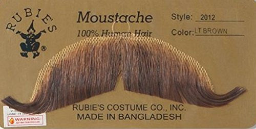 European Moustache - Light Brown