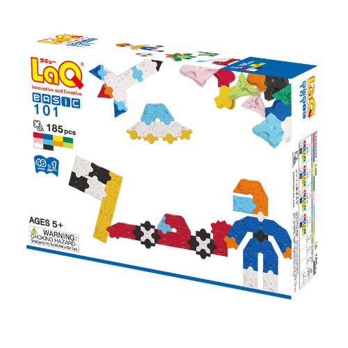 LaQ Basic 101 Model Building Kit (185 pcs)