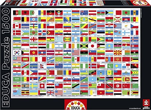 1500 FLAGS OF THE WORLD