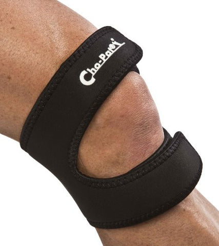 Cho­Pat Dual Action Knee Strap BLACK­Large, 16in­18in (POLY BAG)
