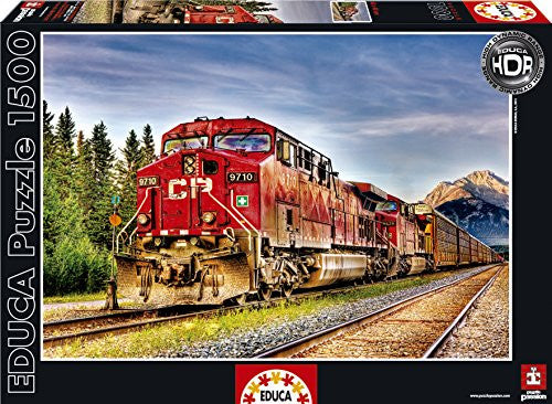 1500 CANADIAN PACIFIC TRAIN