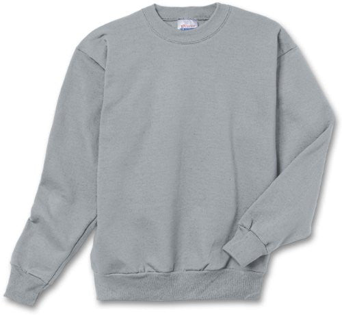 Hanes Youth ComfortBlend Long Sleeve Fleece Crew - p360 (Light Steel / X-Large)