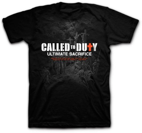 Called to Duty - Ultimate Sacrifice - Scripture T-Shirt 2XL