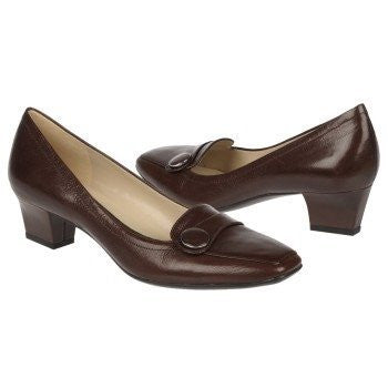Naturalizer Women's Oxford Brown Leather Fulton 9.5 B(M) US