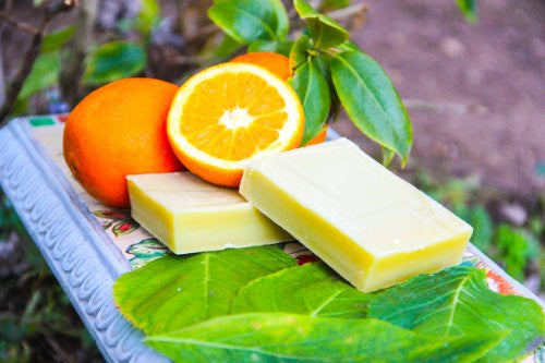 Soothing Soap Sweet Orange - 4oz. bar