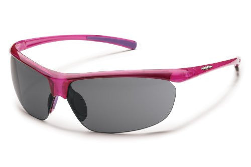 Zephyr Hot Pink with Gray Polarized Polycarbonate Lens