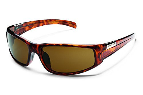 Swagger Tortoise with Brown Polarized Polycarbonate Lens