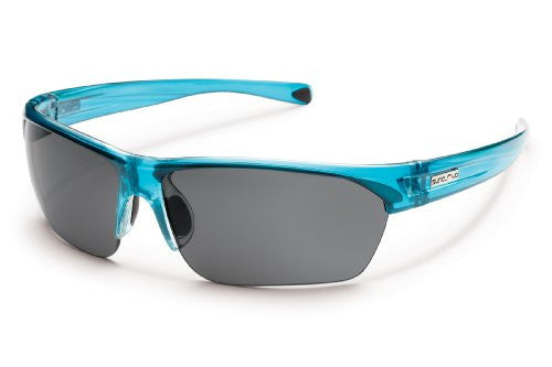 Detour Crystal Teal with Gray Polarized Polycarbonate Lens