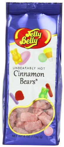 JB 6oz UNBEARBLY HOT CINN BEAR BG 12ct JELLY BELLY - Package