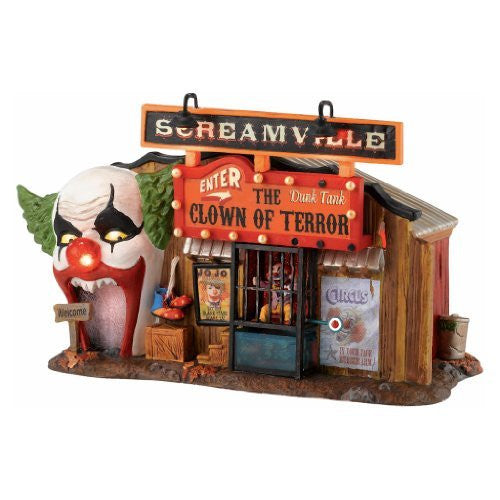 Department 56 The Clown House Of Terror