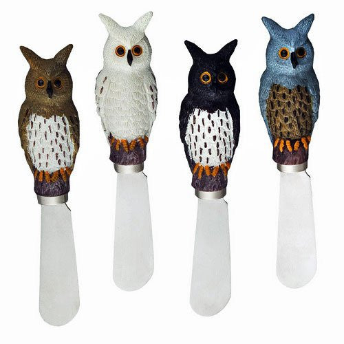 Owl Spreader Set of 4