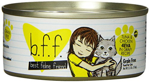 Best Feline Friend Canned Cat Food Variety Pack, 5.5-Ounce, 8-Pack