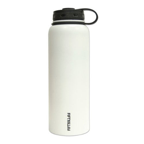 Double-Wall Vacuum-Insulated - Winter White 40oz