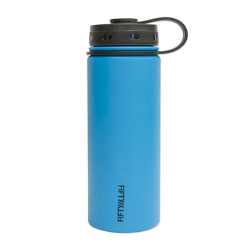 Double-Wall Vacuum-Insulated - Crater Blue 18oz