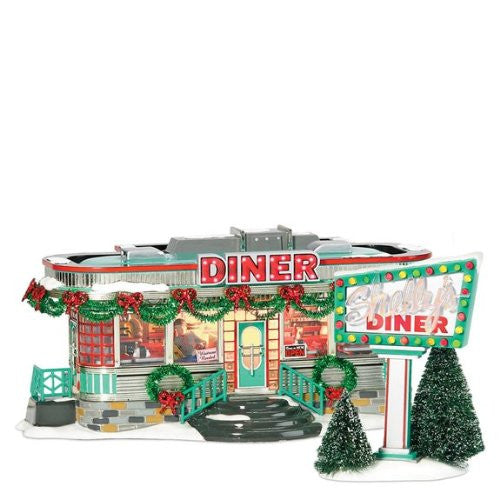 Department 56 Shelly's Diner, Set of 2