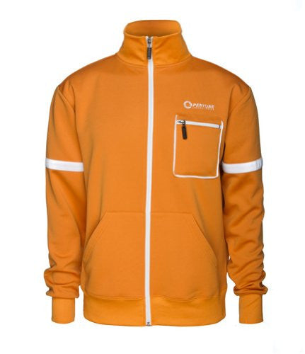Portal 2 Aperture Test Subject Premium Track Jacket,   2X-Large