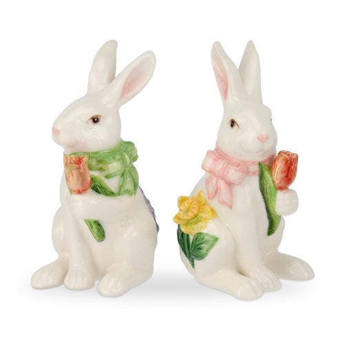 Bunny Salt and Pepper 4.5""