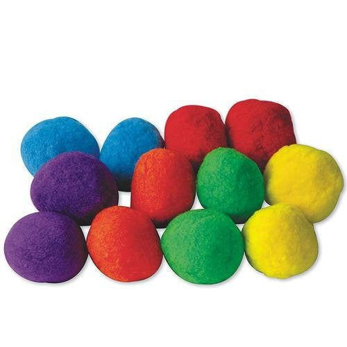 "Puff Balls 4"" (Pack of 12)"