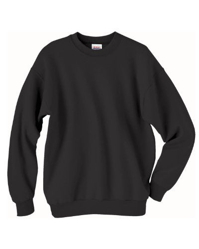 Hanes ComfortBlend Long Sleeve Fleece Crew - p160 (Black / XXX-Large)